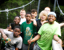 Scout Troop From Florida Checks out high adventure in North Carolina